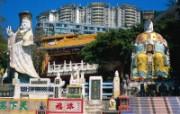 浅水湾景福台Visit Hong Kong Hongkong Travel Spot 香港旅游景点壁纸 人文壁纸