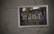 异国情调 西伯利亚的木房子壁纸 一 西伯利亚的木房子木别墅壁纸 西伯利亚风情古老的木房子一 人文壁纸