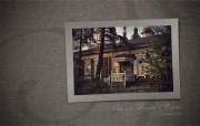 异国情调 西伯利亚的木房子壁纸 一 1920 1200 Siberian wooden houses Wallpaper 西伯利亚风情古老的木房子一 人文壁纸