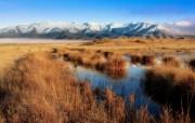 天堂之国 新西兰如画风光壁纸 1920 1200 New Zealand Mackenzie Country Twizel New Zealand 新西兰风光第二集 人文壁纸