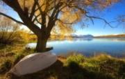 天堂之国 新西兰如画风光壁纸 1920 1200 New Zealand Lake Alexandrina Twizel New Zealand 新西兰风光第二集 人文壁纸