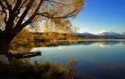 天堂之国 新西兰如画风光壁纸 1920 1200 新西兰风景 Lake Alexandrina 亚历山大利娜湖图片 新西兰风光第二集 人文壁纸