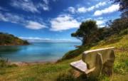 天堂之国 新西兰如画风光壁纸 1920 1200 New Zealand A nice little lookout on Waiheke Island New Zealand 新西兰风光第二集 人文壁纸