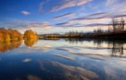 天堂之国 新西兰如画风光壁纸 1920 1200 新西兰名胜 Kelland Ponds 湖畔美景壁纸 新西兰风光第二集 人文壁纸