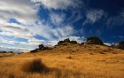 天堂之国 新西兰如画风光壁纸 1920 1200 Smoking Rocks 新西兰风光景色壁纸 新西兰风光第二集 人文壁纸