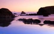 天堂之国 新西兰如画风光壁纸 1920 1200 新西兰 暮色海滩风景壁纸 新西兰风光第二集 人文壁纸
