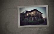 西伯利亚风情 古老的木房子 二 1920 1200 Siberian wooden houses Wallpaper 异国情调西伯利亚的木房子二 人文壁纸