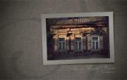 西伯利亚风情 古老的木房子 二 西伯利亚的老式的木房子图片 异国情调西伯利亚的木房子二 人文壁纸