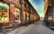 游历德国 萨尔布吕肯城市篇 艺术气息的小巷 德国 Saarbrücken 城市风情 游历德国萨尔布吕肯城市篇 人文壁纸