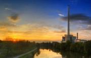游历德国 萨尔布吕肯城市篇 德国萨尔布吕风景 晚上9点半的晚霞 游历德国萨尔布吕肯城市篇 人文壁纸