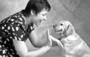 人与狗 1 10 人与狗 人物壁纸