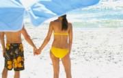 假日海滩 1 9 假日海滩 人物壁纸