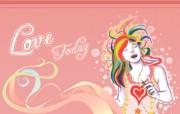 2009情人节精选壁纸 设计壁纸