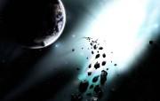 超酷3D太空星球系列 设计壁纸