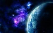 超酷太空星球壁纸系列 设计壁纸