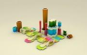 Chromatic立体设计 2 17 Chromatic立体设计 设计壁纸