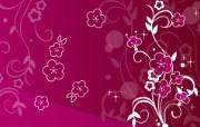 花纹设计宽屏壁纸 1 设计壁纸