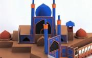 建筑模型大观 设计壁纸