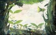 精美彩绘创意宽屏高清壁纸特辑 二 壁纸9 精美彩绘创意宽屏高清 设计壁纸