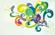 精美矢量色彩风格宽屏壁纸 1920x1200 壁纸50 精美矢量色彩风格宽屏 设计壁纸