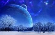 蓝韵雅逸 冰凉蓝色壁纸 壁纸11 蓝韵雅逸冰凉蓝色壁 设计壁纸