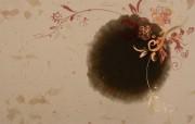 灵气墨染艺术壁纸 壁纸17 灵气墨染艺术壁纸 设计壁纸