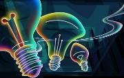 霓虹灯眩光线条描绘设计个性壁纸 壁纸10 霓虹灯眩光线条描绘设 设计壁纸