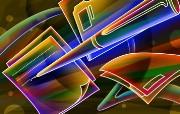 霓虹灯眩光线条描绘设计个性壁纸 壁纸20 霓虹灯眩光线条描绘设 设计壁纸