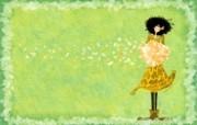 女孩专用 女孩的秘密梦花园宽屏壁纸 壁纸1 女孩专用:女孩的秘密 设计壁纸