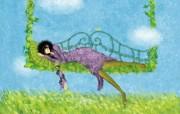 女孩专用 女孩的秘密梦花园宽屏壁纸 壁纸4 女孩专用:女孩的秘密 设计壁纸