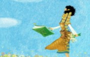 女孩专用 女孩的秘密梦花园宽屏壁纸 壁纸7 女孩专用:女孩的秘密 设计壁纸