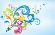青春气息 创意设计宽屏壁纸 壁纸2 青春气息创意设计宽 设计壁纸