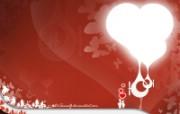 情人专用 情人节专题高清心形壁纸 三 壁纸16 情人专用:情人节专题 设计壁纸