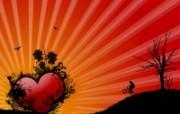 情人专用 情人节专题高清心形壁纸 三 壁纸25 情人专用:情人节专题 设计壁纸