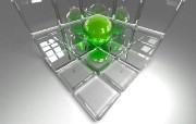 三维玻璃器皿设计 设计壁纸