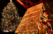 圣诞夜景特辑 设计壁纸