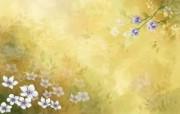 矢量艺术花纹花朵 宽屏壁纸 壁纸6 矢量艺术花纹花朵 宽 设计壁纸