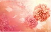矢量艺术花纹花朵 宽屏壁纸 壁纸15 矢量艺术花纹花朵 宽 设计壁纸
