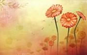 矢量艺术花纹花朵 宽屏壁纸 壁纸21 矢量艺术花纹花朵 宽 设计壁纸