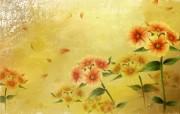 矢量艺术花纹花朵 宽屏壁纸 壁纸27 矢量艺术花纹花朵 宽 设计壁纸
