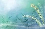 矢量艺术花纹花朵 宽屏壁纸 壁纸32 矢量艺术花纹花朵 宽 设计壁纸