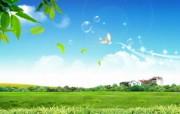 温馨家园 蓝天白云电脑设计壁纸 壁纸4 温馨家园 蓝天白云电 设计壁纸
