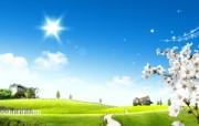 温馨家园 蓝天白云电脑设计壁纸 壁纸5 温馨家园 蓝天白云电 设计壁纸