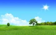 温馨家园 蓝天白云电脑设计壁纸 壁纸12 温馨家园 蓝天白云电 设计壁纸