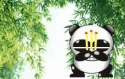 熊猫烧香图片壁纸 设计壁纸