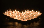 1920x1200 祝福的烛光 纪念汶川地震 1920x1200 心形烛光图片 温馨烛光图片 1920x1200 祝福的烛光壁纸 摄影壁纸
