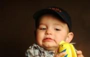 可爱儿童摄影 趣怪表情小男孩图片壁纸 爱与纯真可爱婴儿儿童摄影壁纸 摄影壁纸