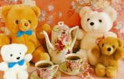 百岁小熊泰迪熊 Teddy bears一 摄影壁纸