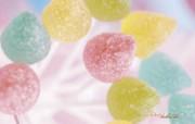彩色软糖图片 梦幻风格糖果摄影 缤纷糖果摄影壁纸第二辑 摄影壁纸