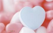 心形糖果图片 情人节梦幻糖果壁纸 缤纷糖果摄影壁纸第二辑 摄影壁纸
